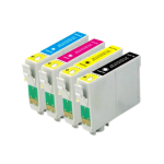 Epson T0615 (T0611 - T0614) Compatible Ink Cartridge Pack - 4 Inks