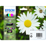 Epson T1806 (T1801 - T1804) Original Ink Cartridge Pack - 4 Inks
