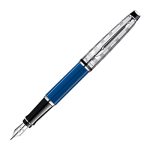 Waterman Expert Deluxe Blue Obsession CT Fountain Pen 1904591
